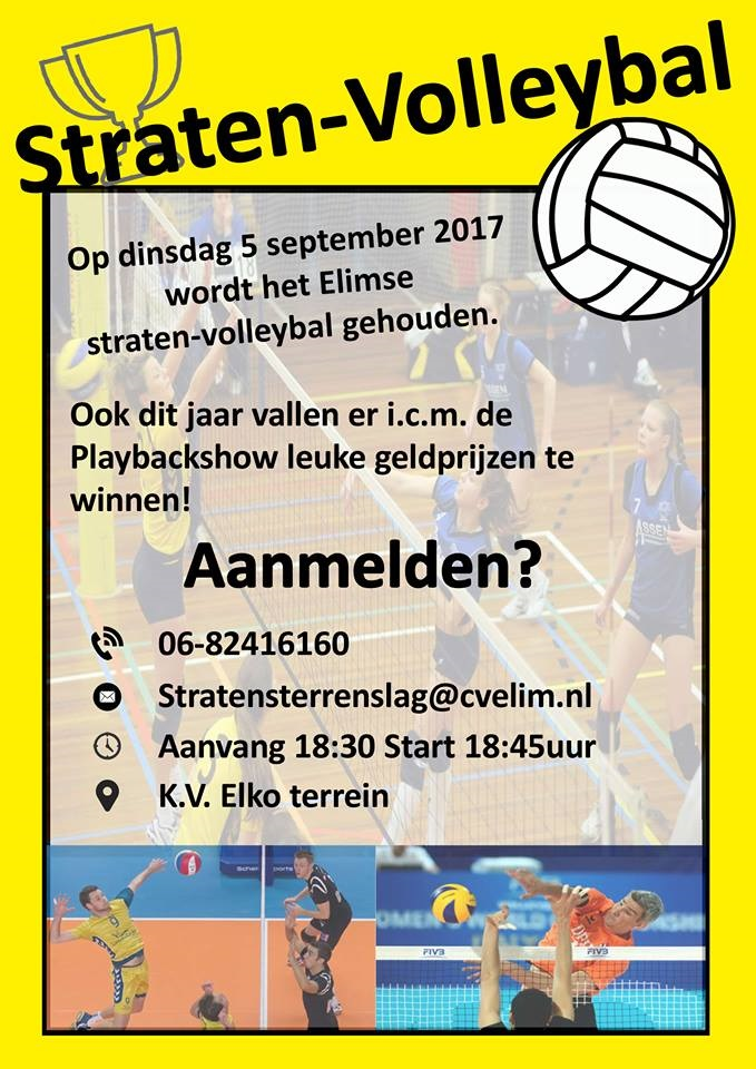 Starten Volleybal 2017