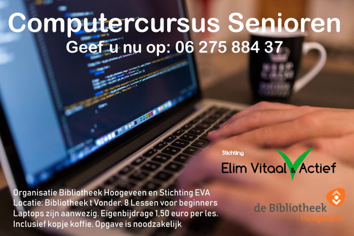 Computercursus Senioren EVA